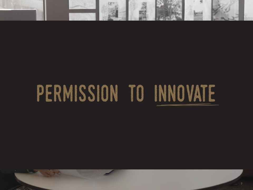 Permission to Innovate (Adrian Camm)